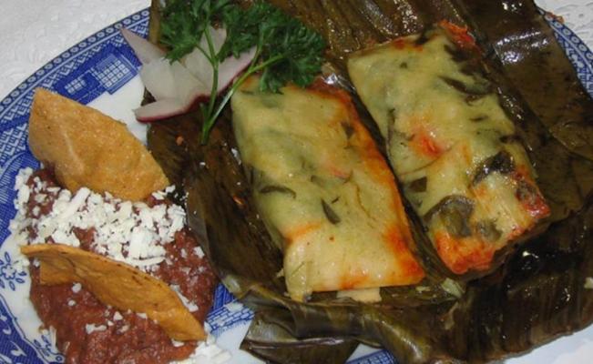 Platillo Tipico de Chiapas - Tamal Chipilín