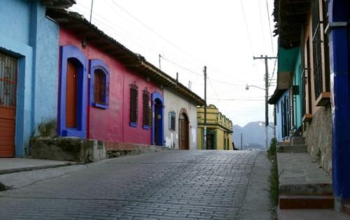 Pueblo en Chiapas
