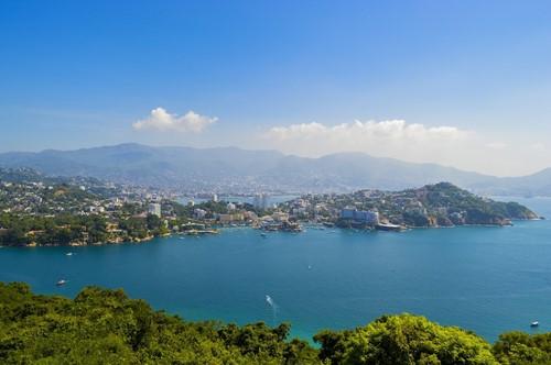 Vista Panorámica de Acapulco