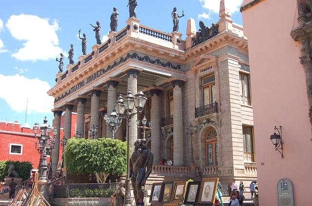 Juarez Theater of Guanajuato City