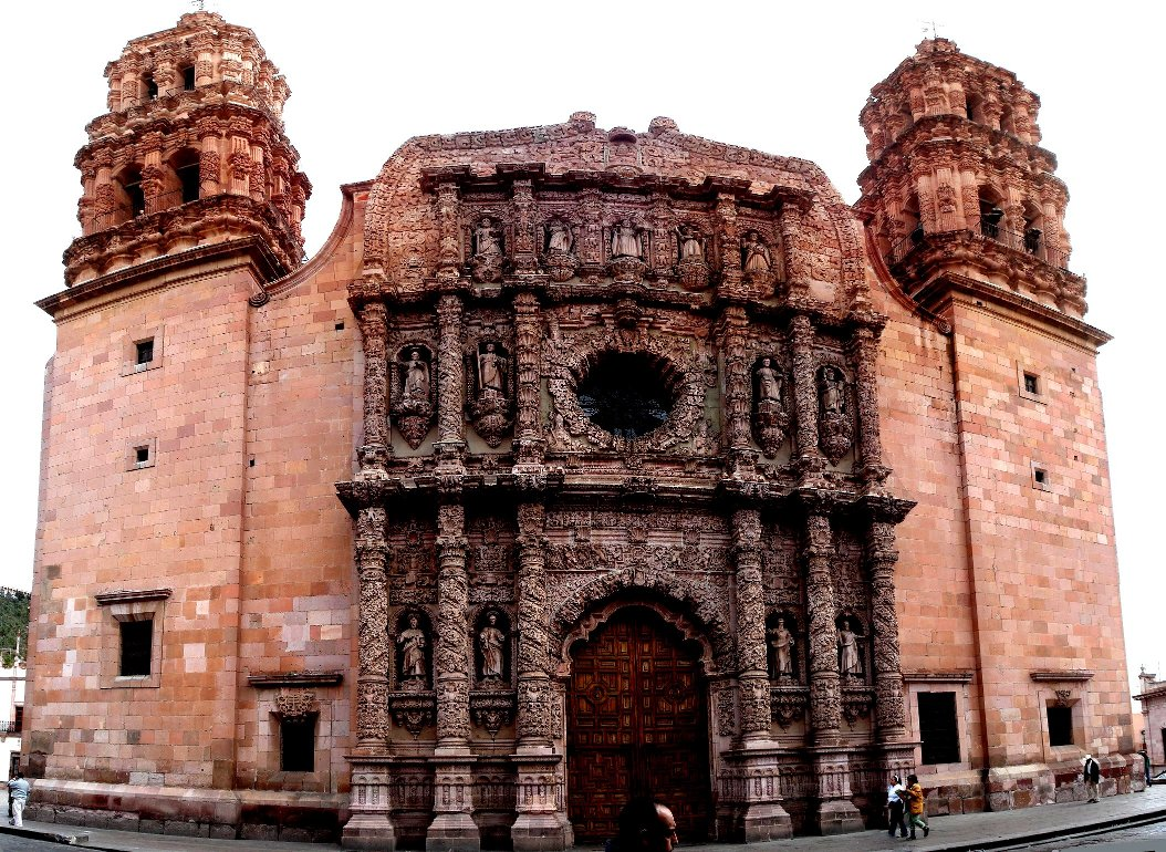 Cathedral of the City Zacatecas