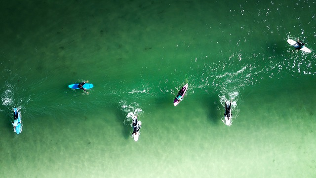 Surfer in Sayulitas Beach