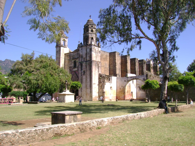 Ex Convento de la Natividad en Tepoztlán