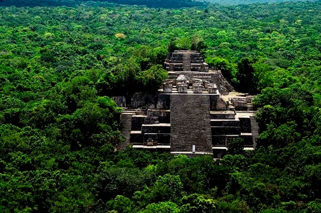Calakmul in the state of Campeche