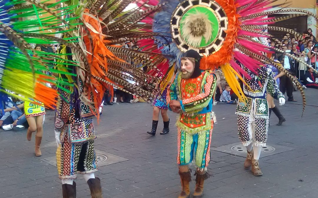 Tlaxcala Carnival a tradition of many years