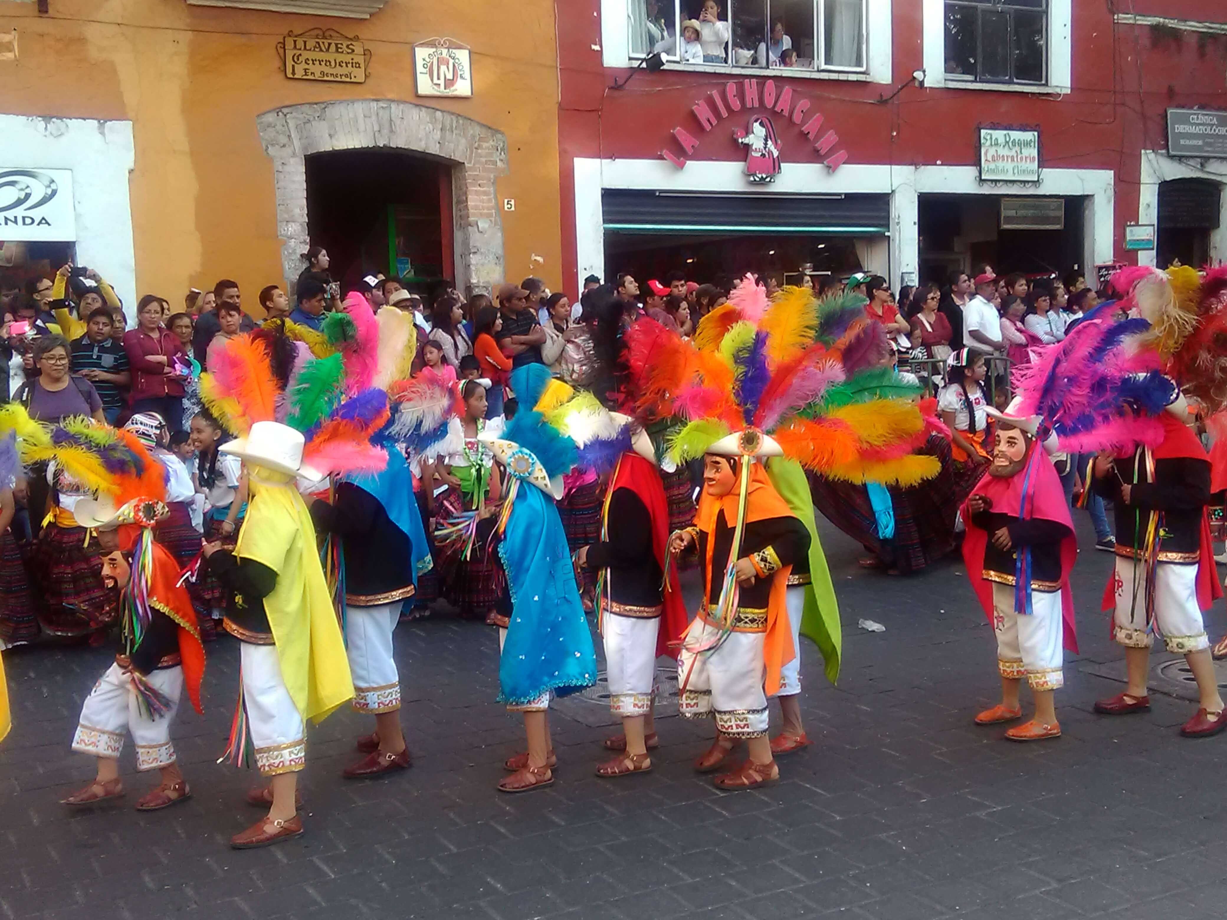 Dances at the Tlaxcala Carnival
