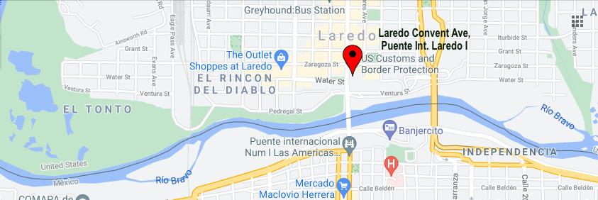 Border Crossings Texas-Tamaulipas
