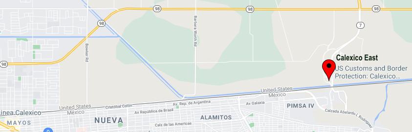 Border Crossings California-Baja California
