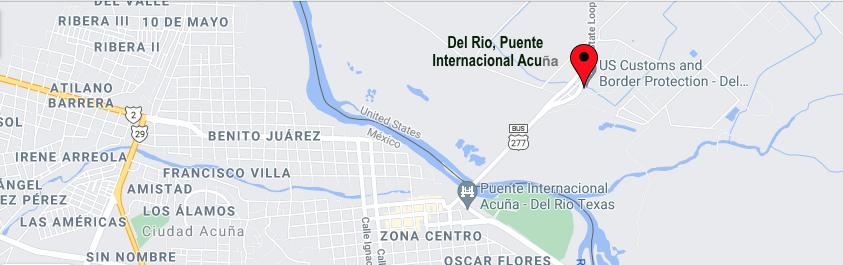Border Crossings Texas-Coahuila