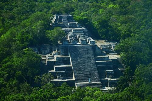 Ruinas Mayas Calakmul en Campeche