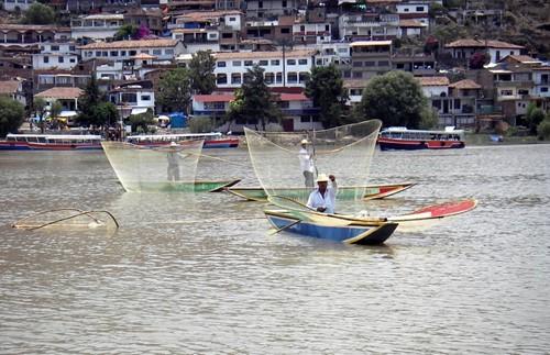 Lago de Patzcuaro Michoacan