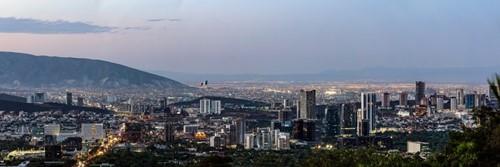 Vista Panorámica de Monterrey Nuevo León