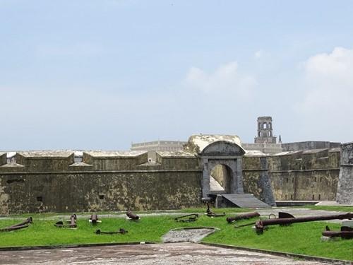 La fortaleza en San Juan de Ulúa
