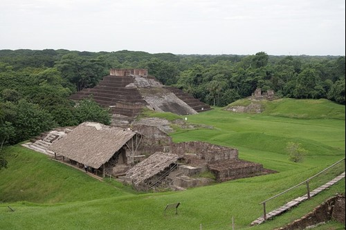 Zona Arqueologica Comalcalco Tabasco