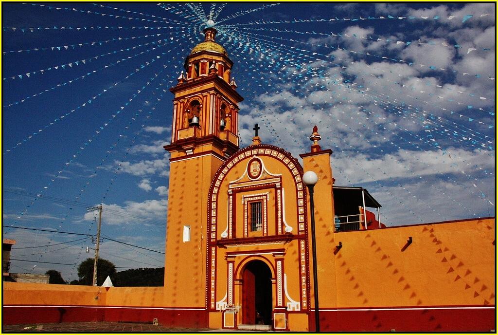 Iglesias en Cholula Puebla