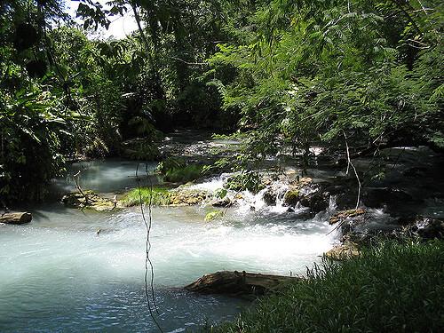 ríos Oxolotlán y Amatlán cerca de  Tapijulapa