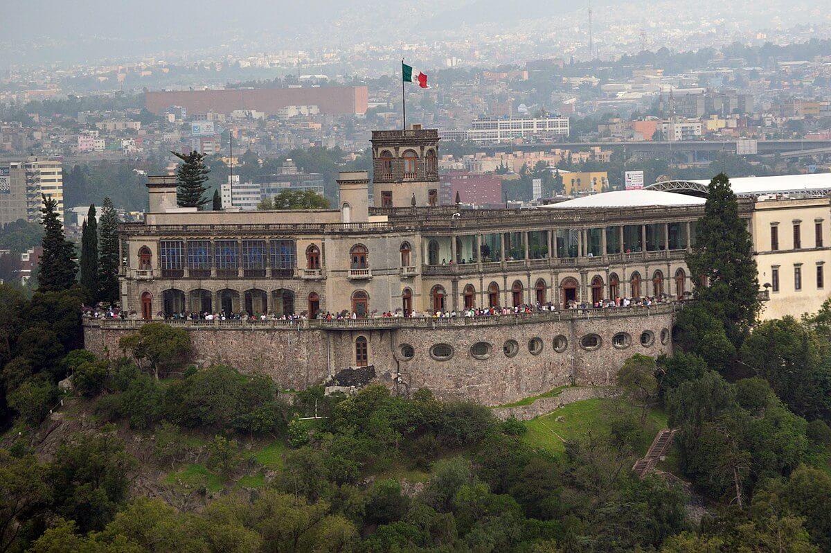 Castillo de Chapultepec de la ciudad de México