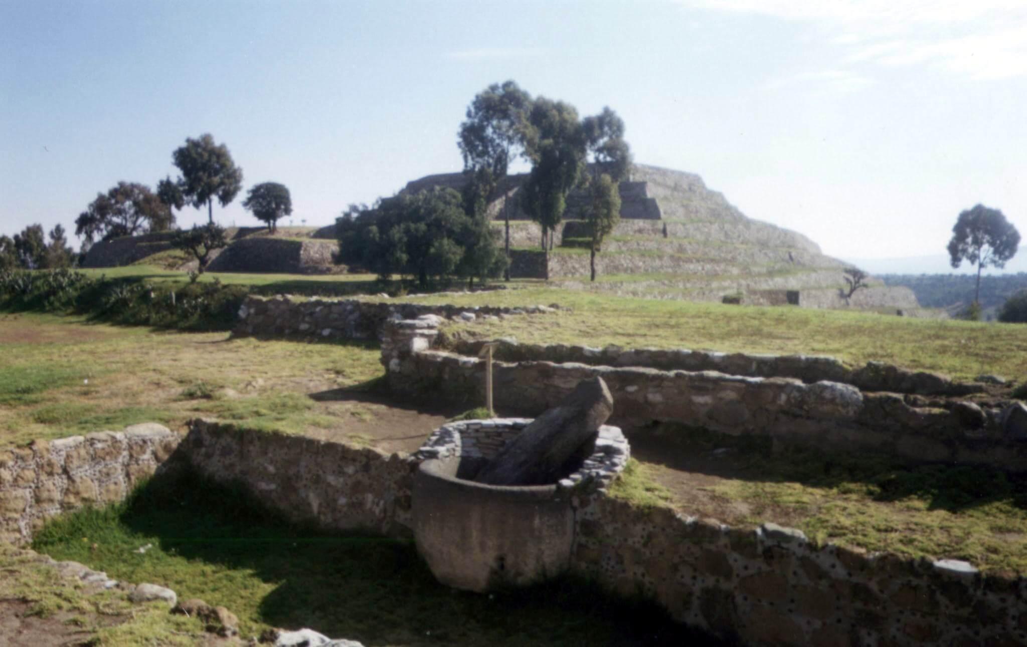 Zonas arqueológicas de la ciudad de Tlaxcala