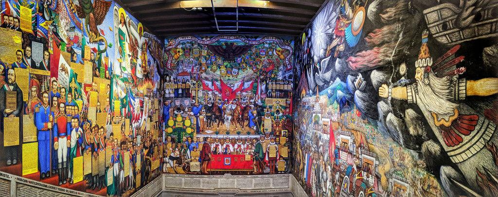 Murales en la Ciudad de Tlaxcala